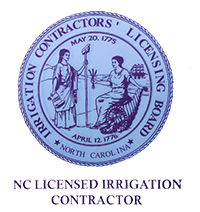 NC Licensed Irrigation Contractor